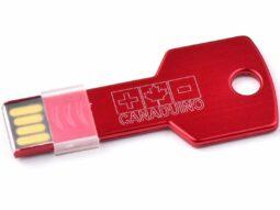 CANADUINO 32GB USB 2.0 Thumb Drive Keychain Style  7MB/s Write – 24MB/s Read