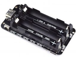 Lithium Battery 2 x 18650 Charger – 3V 5V Booster – Integrated Battery Holder