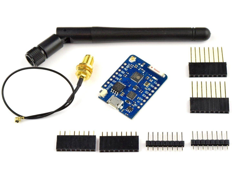 WEMOS D1 Mini Pro 16MB ESP8266 Wi-Fi, external high-gain Antenna