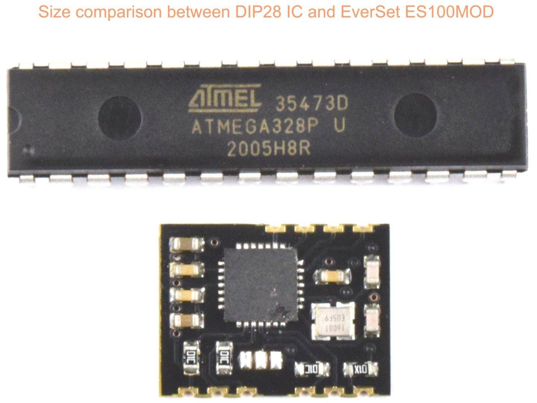 EverSet ES100-MOD WWVB BPSK Phase Modulation Receiver Module