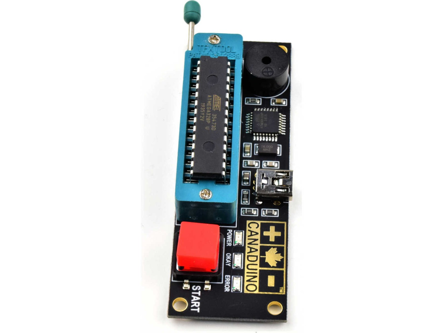 Full-Automatic Bootloader Programmer for Atmega328P MCU (100% compatible with Arduino)