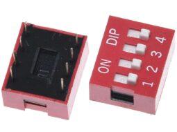 3×4 Array Matrix Keypad, hard keys, black