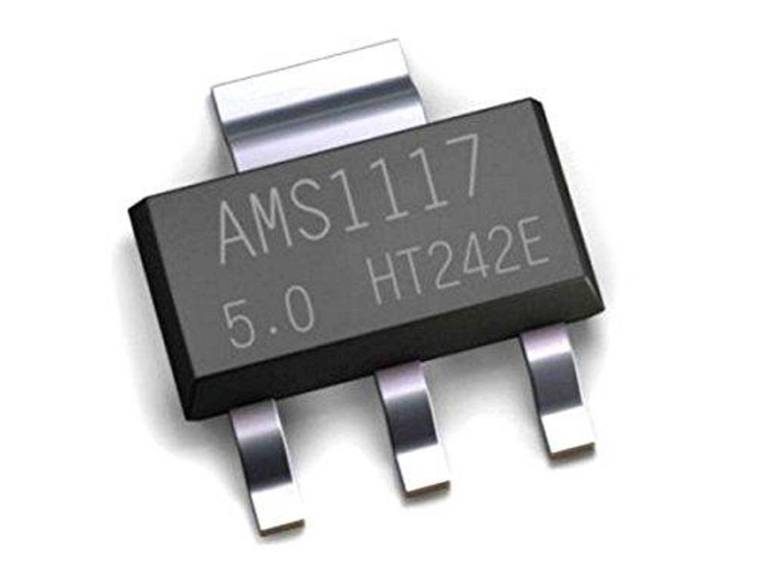 10 x Voltage Regulator AMS1117-5.0