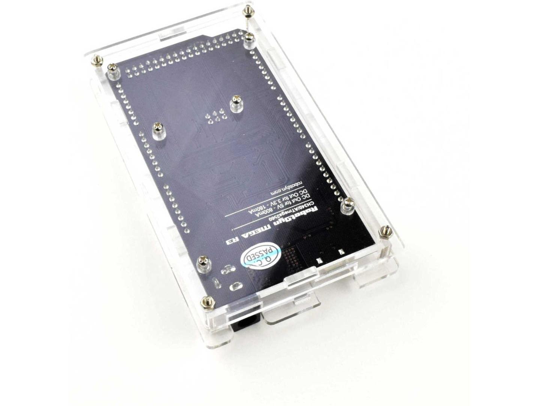 MEGA 2560 R3 Acrylic Enclosure DIY Kit for compatible MEGA 2560 modules