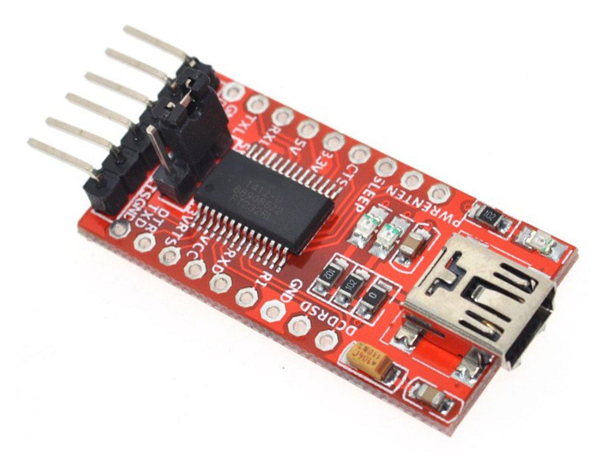 CANADUINO FT232RL USB – UART Serial Communication and Programming Adapter 3.3V / 5V