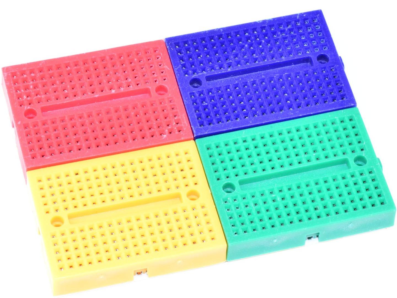 4 x Solderless Mini Breadboard 170 Tie Points – Set of 4