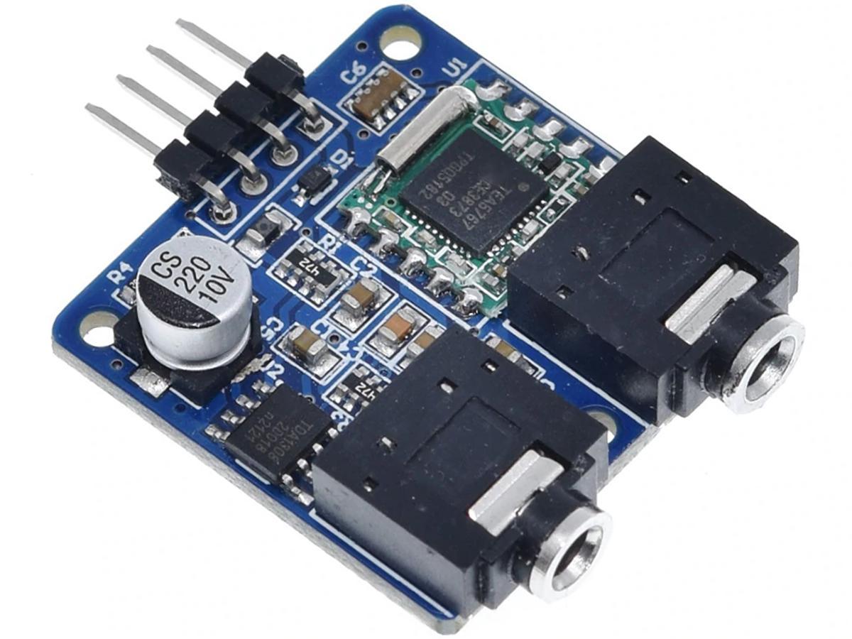 CANADUINO FM Stereo Mini Radio Module with NXP TEA5767HN for Arduino