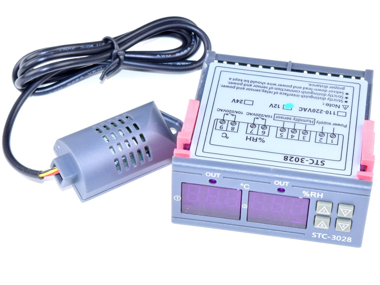CANADUINO STC-3028 Temperature Humidity Controller 12V