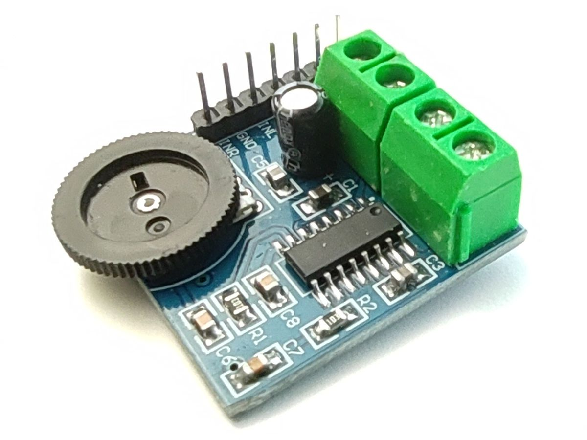Audio Amplifier Module PAM8403 with volume knob