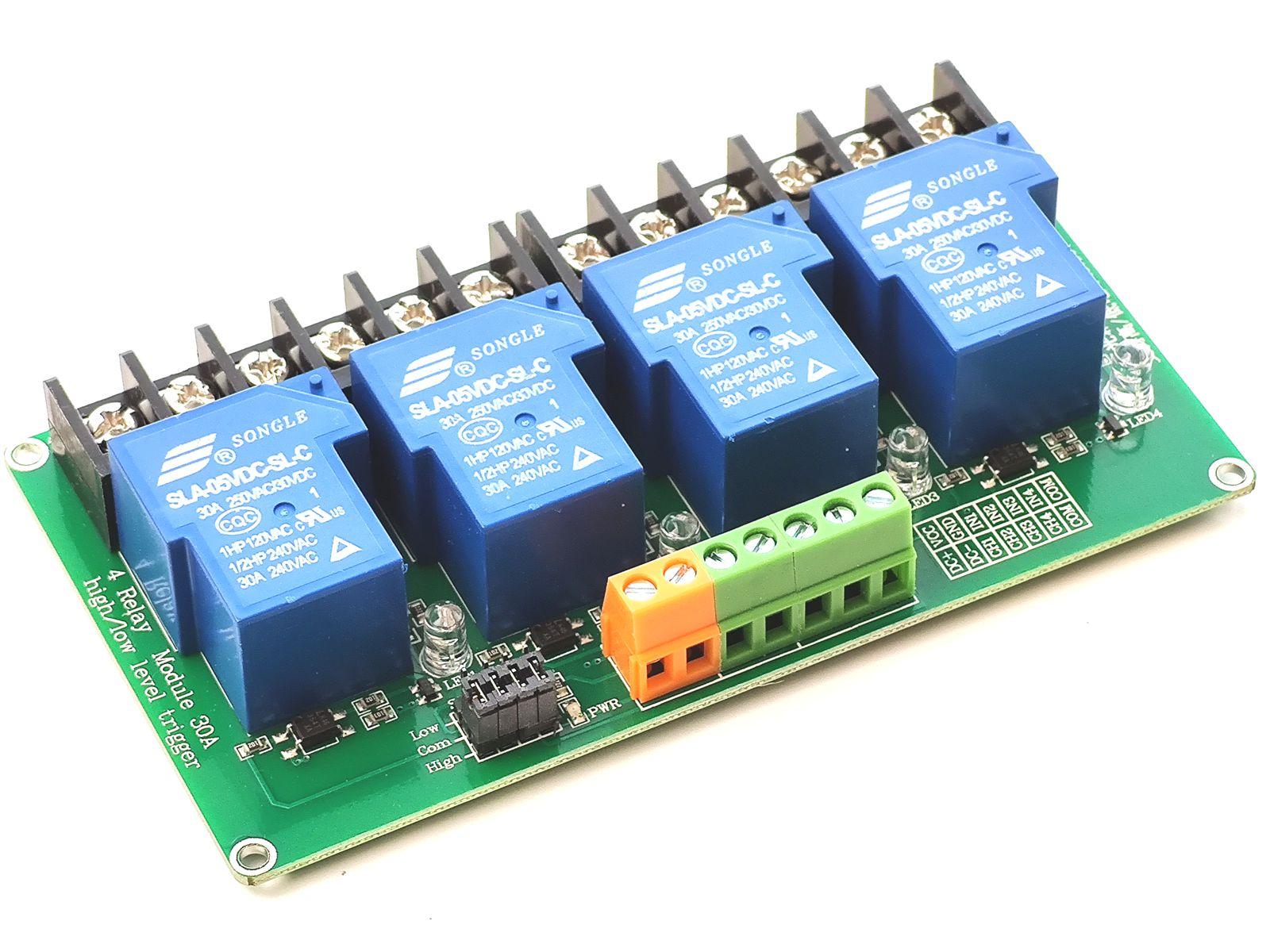 4 Relay 30A module 5V