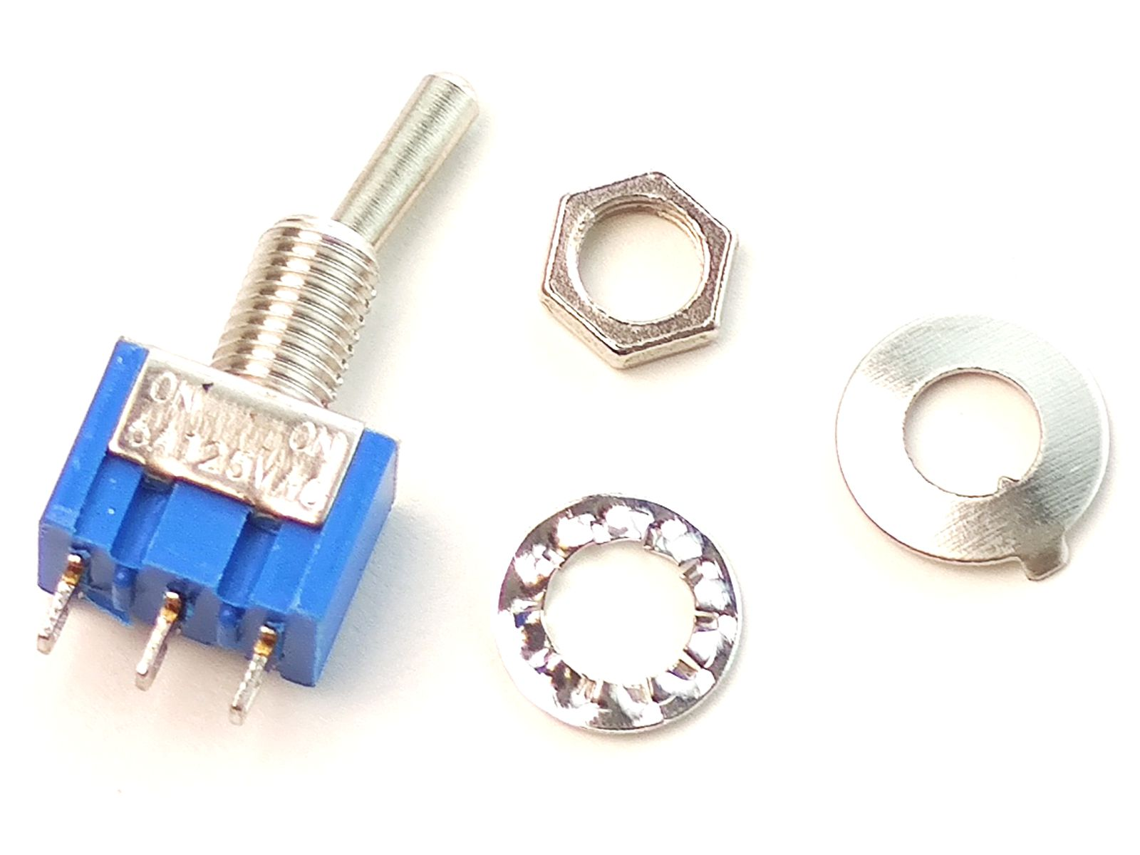 Toggle Switch 2 position ON-ON 5A 125VAC