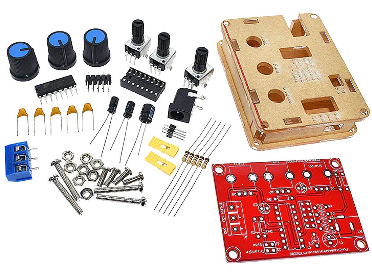 Digital Function Generator DIY Soldering Kit with Exar XR-2206